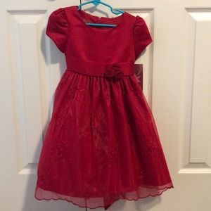 Princess Faith Child's Red Dress Size 5/Small